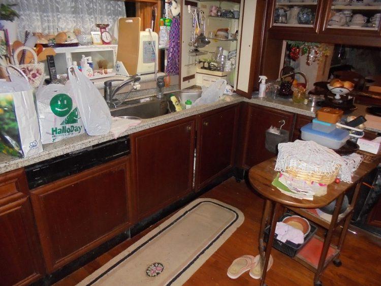 キッチンリフォーム前の写真